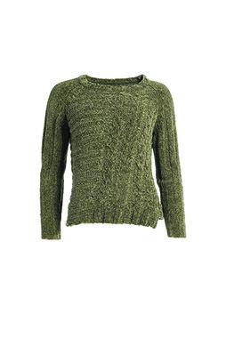 Smash UNAUNA Dámský svetr tmavě zelený