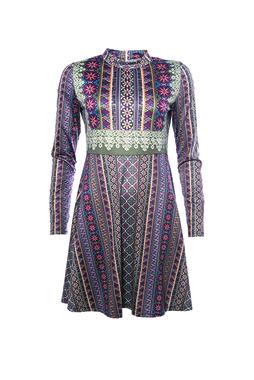 Smash GROSELLA Dámské šaty fialové