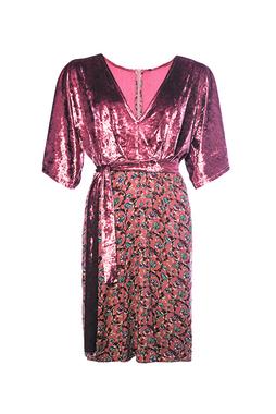Smash MANIGLIA Dámské šaty růžové