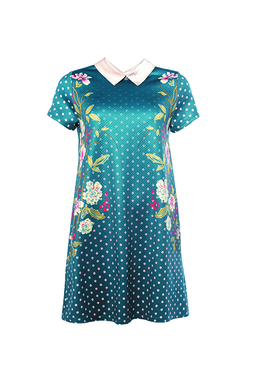 Smash IRLANDA Dámské šaty modré