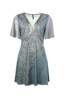 Smash TASMANIA Dámské šaty šedé