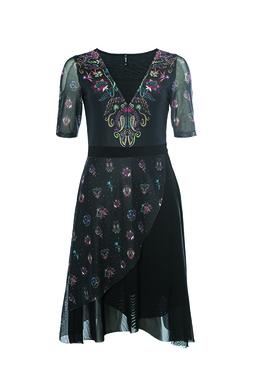 Smash TOBALAI Dámské šaty černé