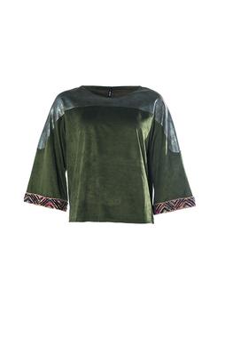 Smash LIQUID Dámské tričko tmavě zelené