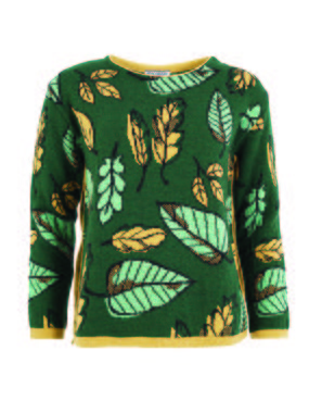 Smash JARED Dámský svetr zelená