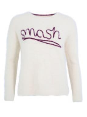 Smash PAISLEY Dámský svetr béžová