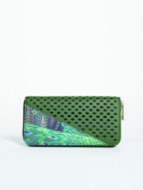 Smash CAVIL Dámská peněženka zelená jedna velikost