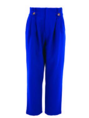 Smash CECILY Dámské kalhoty modrá