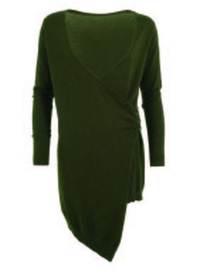 Smash DELISH Dámský svetr tmavě zelená