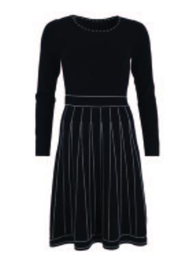 Smash LONTE Dámské šaty černá