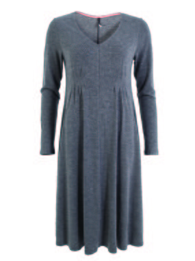 Smash CORAL Dámské šaty šedá