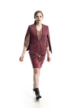 Mamatayoe Araucaria Dámský kabátek růžový
