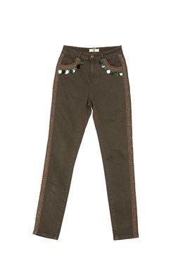 Nekane AREL Dámské kalhoty zelené