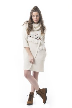 Mamatayoe Au Lait Dámské šaty bílé