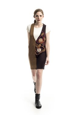 Mamatayoe Berberis Dámské šaty hnědé