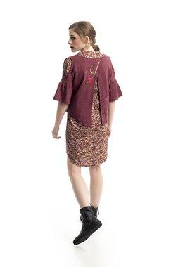 Mamatayoe Boj Dámský kabátek růžový