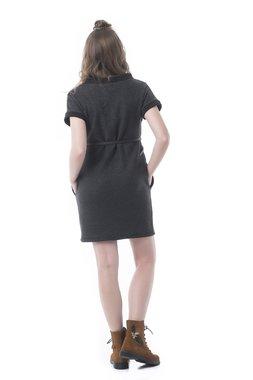 Mamatayoe Bombon Dámské šaty tmavě šedá
