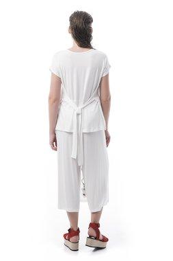 Mamatayoe Carcans Dámský Dámské triko bílé