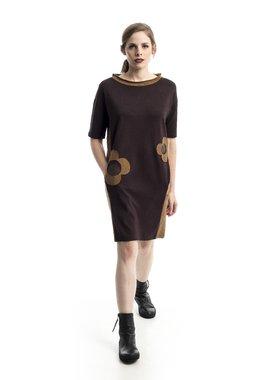 Mamatayoe Cedro Dámské šaty hnědé