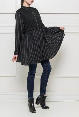 Ryujee Clea šaty - tunika černá