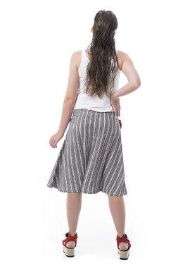 Mamatayoe Colliure Dámská sukně šedá
