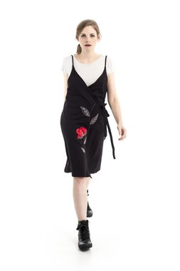 Mamatayoe Cornish Maize Dámské šaty černé