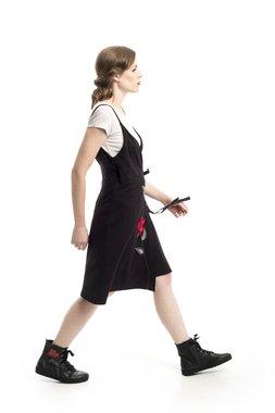 Mamatayoe Cornish Maize Dámské šaty černá