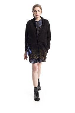 Mamatayoe Cuarzo Dámský kabát černý
