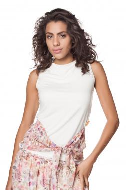 Mamatayoe Cuba top bílo-růžový