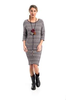 Mamatayoe Des Volcans Dámské šaty šedé