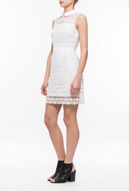 Ryujee DOLIA šaty bílá