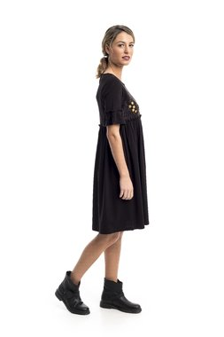 Mamatayoe Donna Fugata Dámské šaty černé