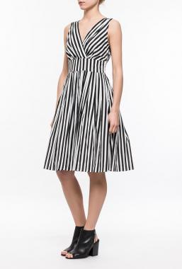 Ryujee DORY šaty black/white
