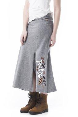 Mamatayoe En rama Dámská sukně šedá