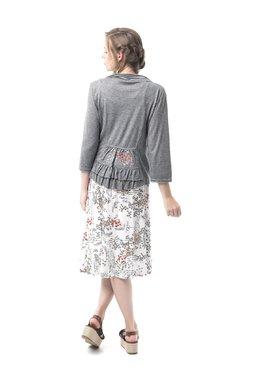 Mamatayoe Fortunata Dámské krátké sako šedé