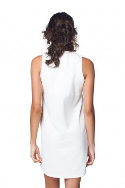 Mamatayoe Fortuna dámské šaty bílé