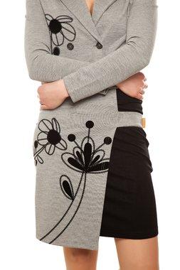 Mamatayoe GODI krátka sukně černo-šedá