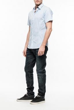 Ryujee HAD košile s krátkým rukávem modrá