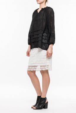 Ryujee KAINA dámská krátká sukně bílá