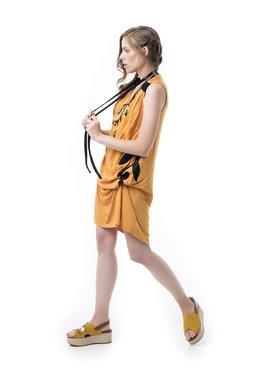 Mamatayoe La Mandragola Dámské šaty žlutá