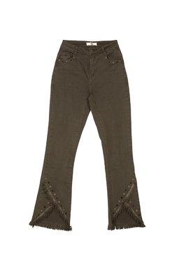 Nekane LYCHEE Dámské kalhoty zelené