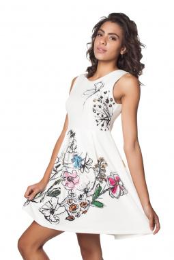 Mamatayoe Larentina šaty bílé