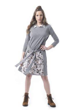 Mamatayoe Melange Dámské šaty šedé