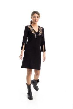 Mamatayoe Merville Dámské šaty černé