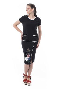 Mamatayoe Mimizan Dámské triko černé
