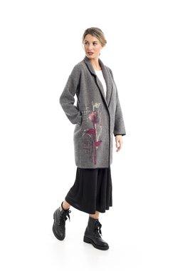 Mamatayoe Minos Dámský kabát šedý