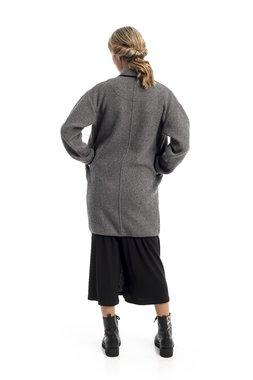 Mamatayoe Minos Dámský kabát šedá