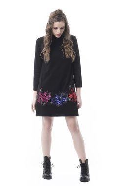 Mamatayoe Moscovita Dámské šaty černé