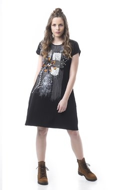 Mamatayoe Noir Dámské šaty černé