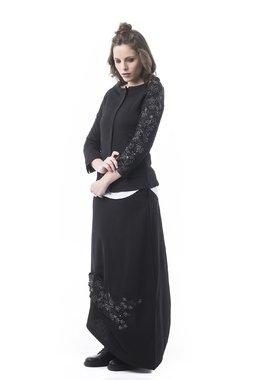 Mamatayoe Nougat Dámský kabátek černý