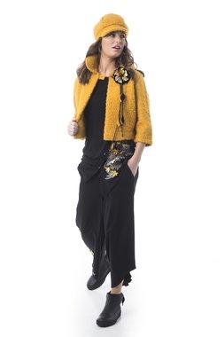 Mamatayoe Pionono Dámský kabátek žlutý